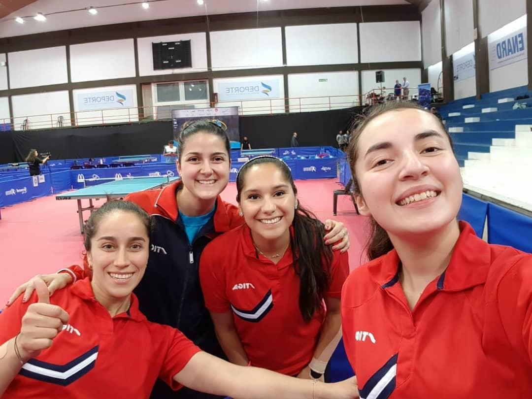 Equipo femenino de chile se corona campeón sudamericano en Buenos Aires Argentina