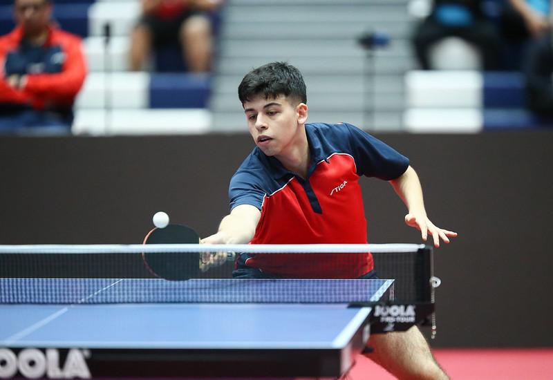 """Nicolas Burgos ya está entre los 32 del mundo  """"2019ITTF WORLD Junior table tennis Championships"""""""