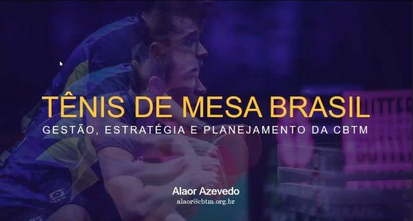 Tenis de Mesa en Brasil, por Alaor Azevedo