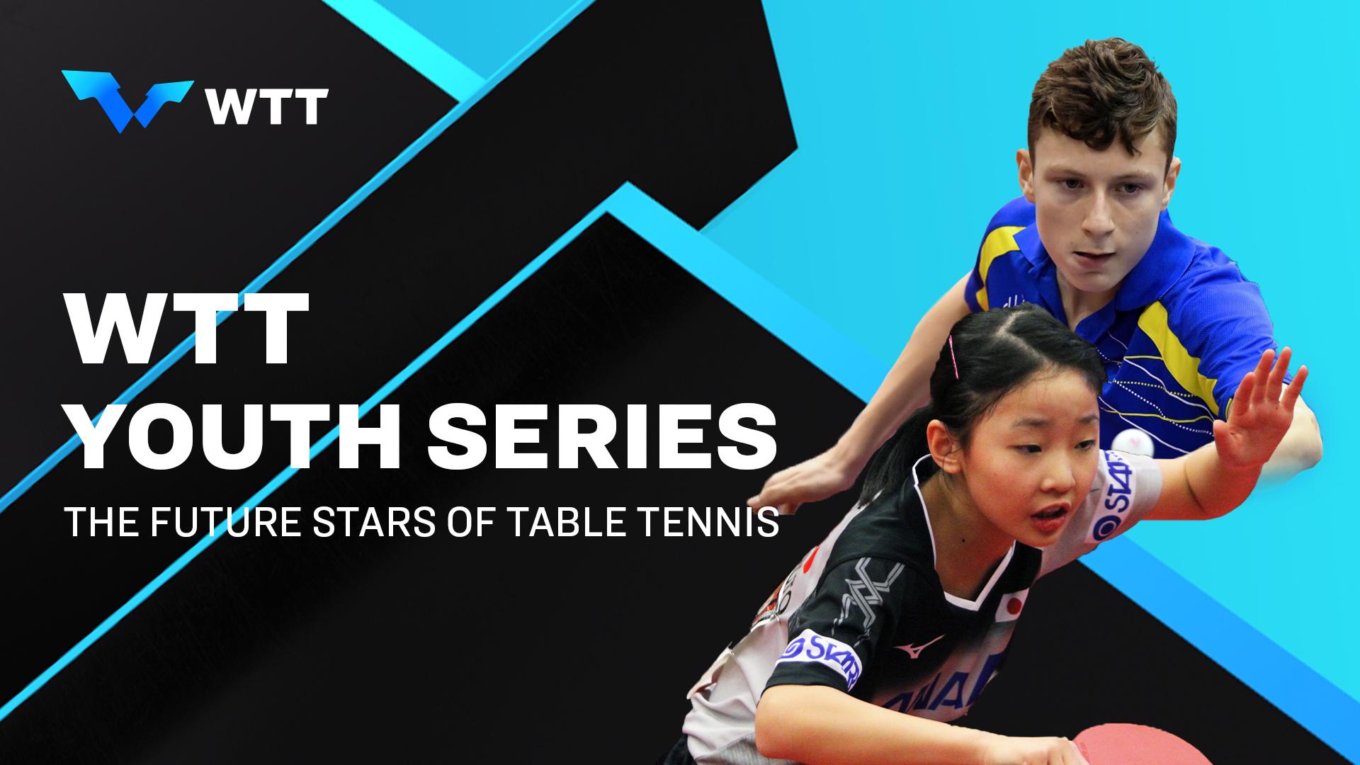 Se anuncian los eventos inaugurales de la Serie Mundial Juvenil de Tenis de Mesa (WTTY) para 2021