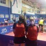 Chile avanza a cuartos de final en dobles damas
