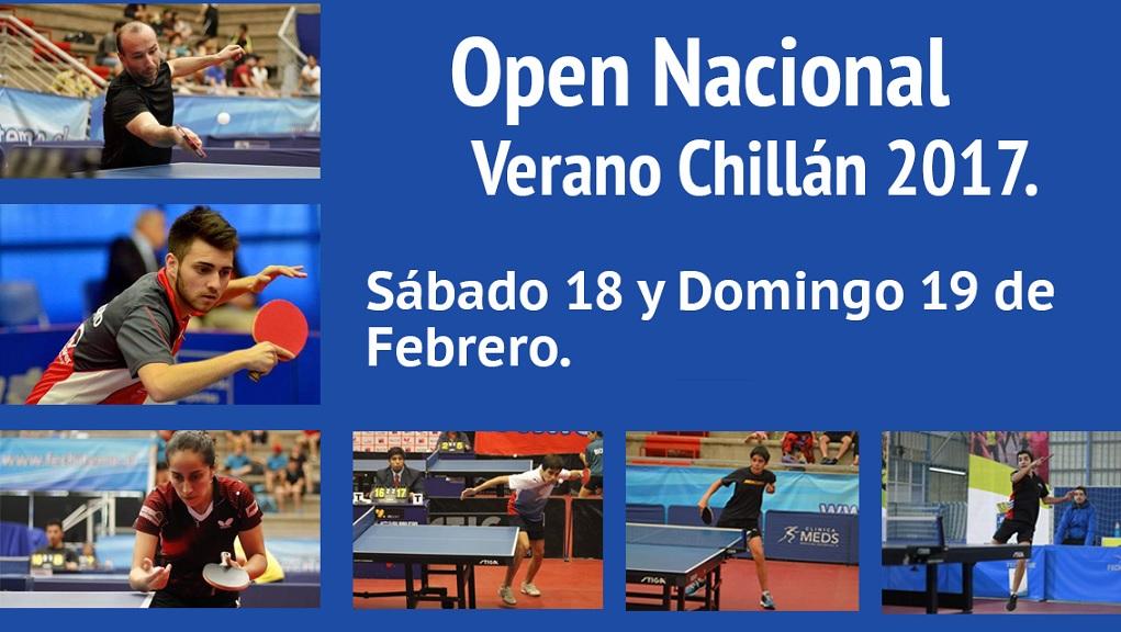 Open Verano Chillán 2017 - AFICHE (extracto)