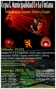 Campeonato La Pintana 2017