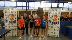 Open Melipilla 2017 - Podio Juvenil Damas