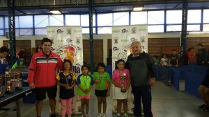 Open Melipilla 2017 - Podio Mini Peneca Damas