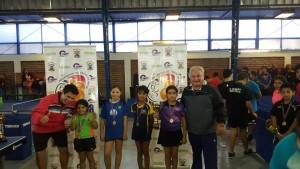 Open Melipilla 2017 - Podio Peneca Damas