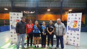 Open Melipilla 2017 - Podio TC Damas
