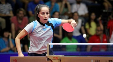 Panamerican Table Tennis Cup, Costa Rica/  Pailina Vega CHI