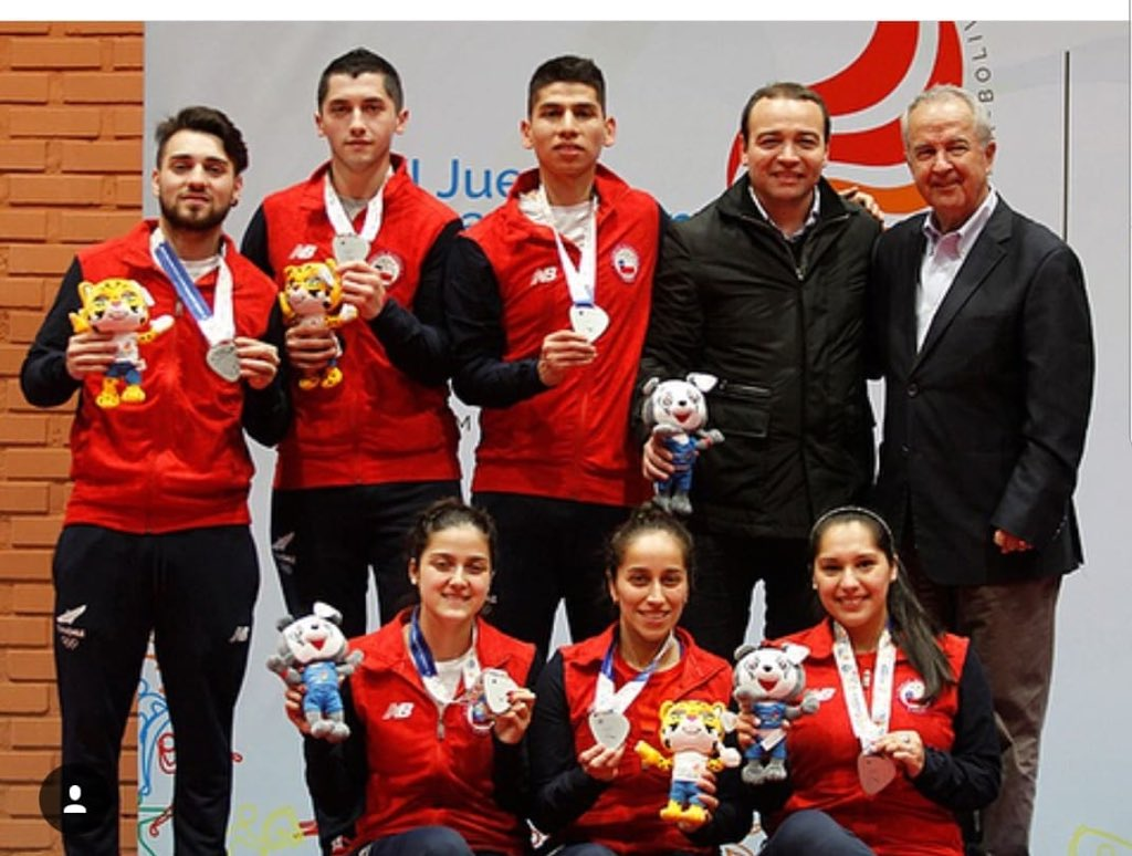 Resultado Historico Para Chile En Juegos Odesur Cocha 2018